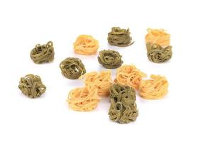tagliatelles pâtes italiennes. photo