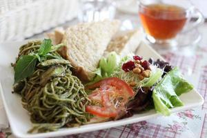 repas végétarien photo