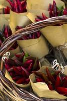 bouquet de poivrons