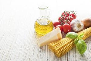 ingrédients de pâtes