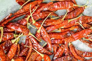 piment rouge sec photo