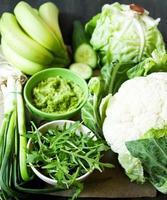 légumes verts photo