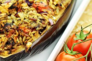 aubergines farcies photo