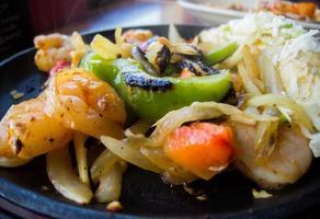 Fajitas aux crevettes photo