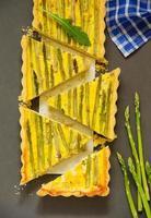 tarte aux asperges.