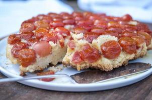 tarte aux tomates photo