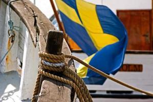 drapeau suédois photo