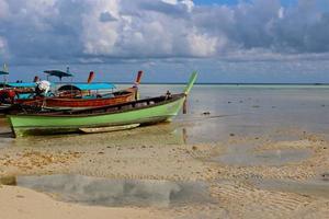 bateau longtail, thaïlande photo