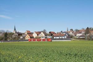 train de banlieue photo