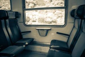 intérieur du train