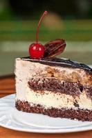 morceau de gâteau photo
