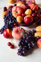 fruits assortis photo