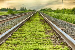 voies ferrées photo