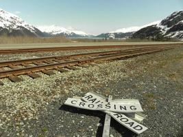 chemin de fer de l'Alaska photo