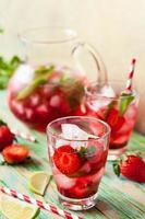 boisson aux fraises