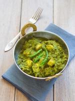 palak paneer (cuisine indienne) photo