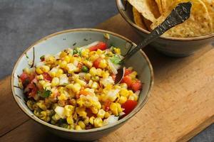 salsa de maïs