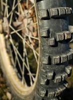 roue de motocross photo