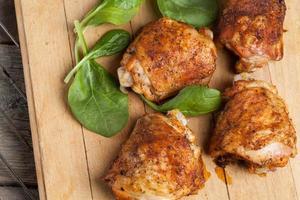 poulet grillé. photo