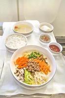 nourriture de compagnie aérienne photo