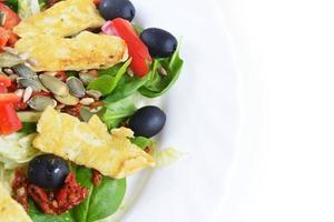 salade d'épinards frais