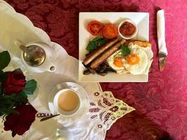 petit déjeuner élégant