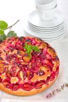 gâteau à la prune photo