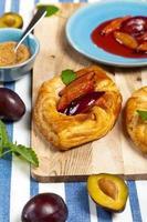 pâtisseries aux prunes