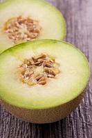 tranches de melon cantaloup
