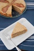 gâteau aux amandes et aux poires