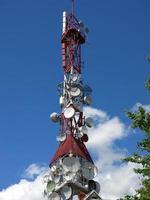 tours de télécommunications photo