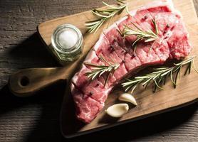 Steak de bœuf photo