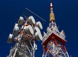 antennes de télécommunication photo