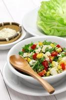 Wrap végétarien à la laitue
