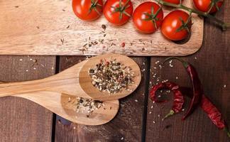 légumes et épices photo