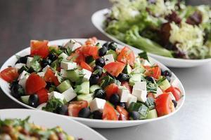 trio de salades fraîches