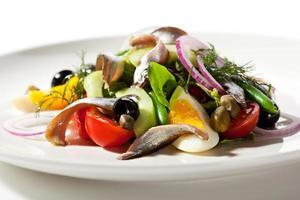 salade aux anchois photo