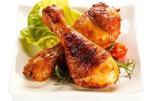 cuisses de poulet rôties
