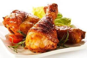 cuisses de poulet rôties photo
