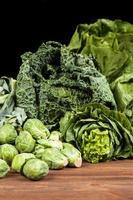 assortiment de légumes verts
