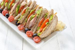 temps de sandwich