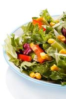 alimentation saine - salade de légumes