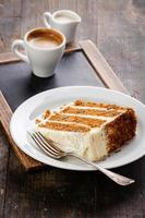 gâteau à la carotte photo