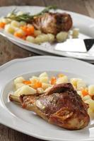 cuisse de dinde aux légumes