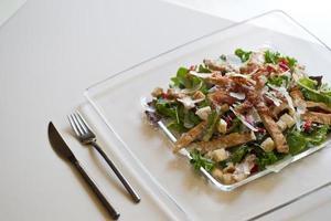 délicieuse salade de poulet photo