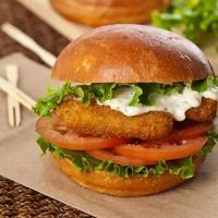 burger de poisson photo
