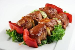 porc yakitori photo