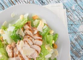 salade césar fraîche photo