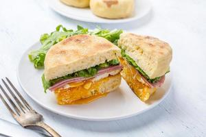 sandwich aux muffins photo
