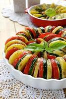 tian aux légumes photo